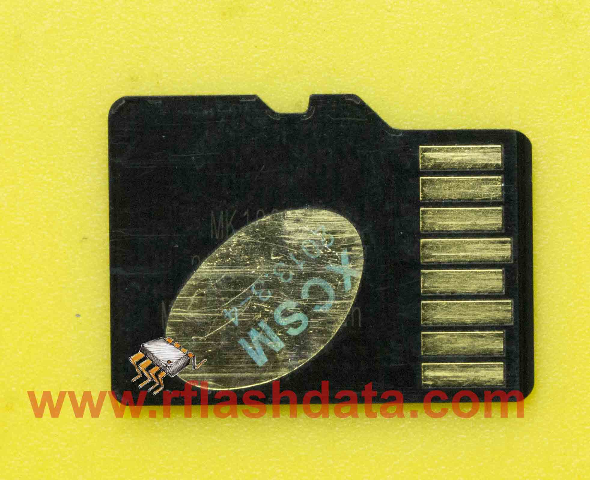 MicroSD data recovery