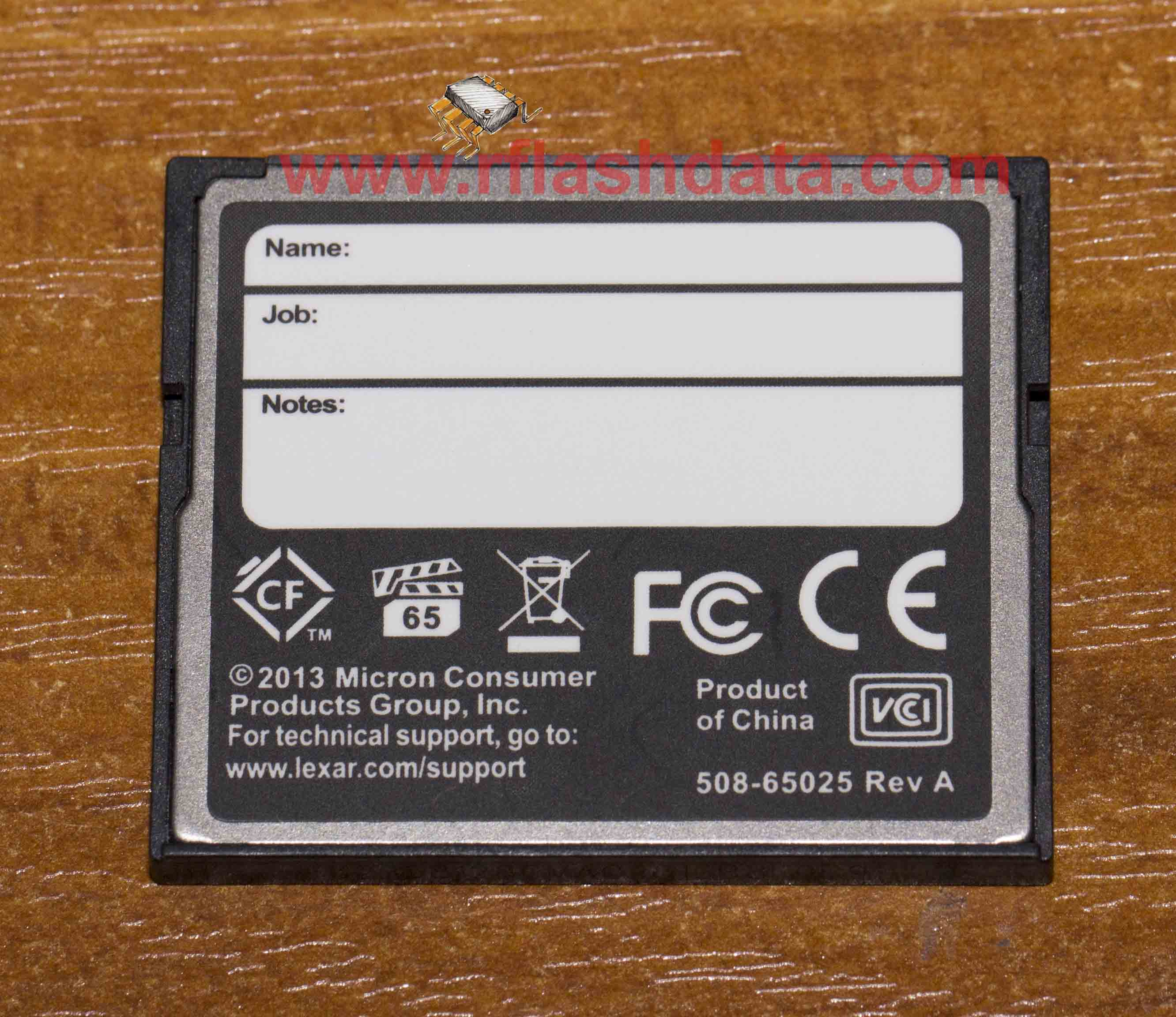 compact flash memory card