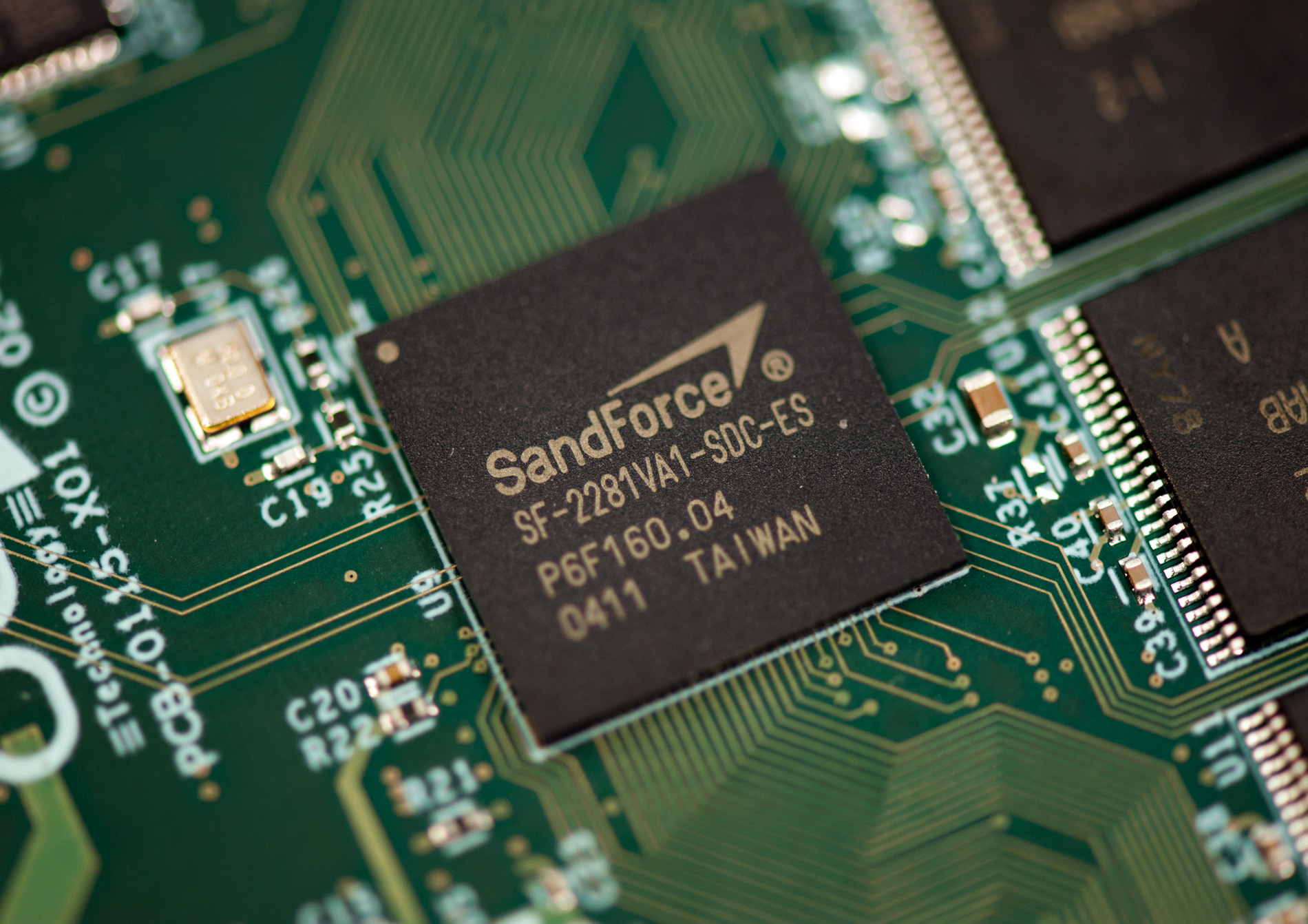 sandforce SSD data recovery