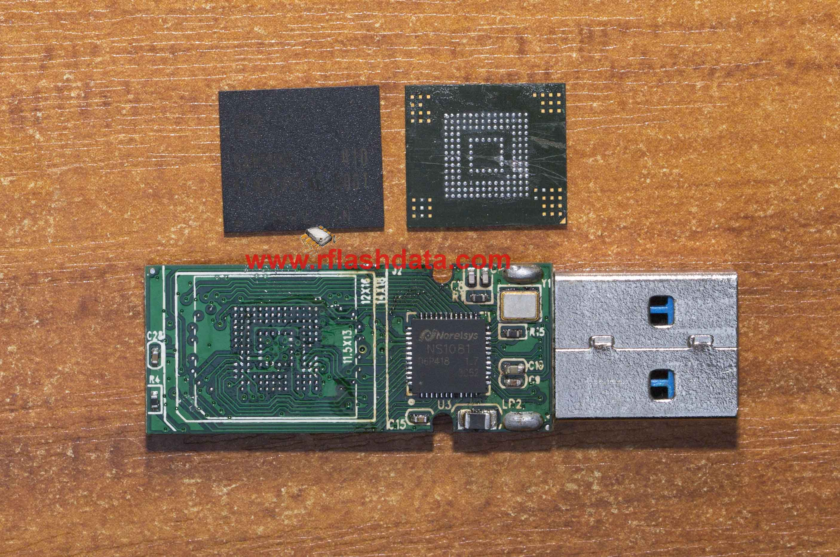 Norelsys NS1081 USB3.0 flash drive data recovery